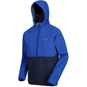 Regatta Arec II Softshell Jacket Men, surf spray/navy reflective